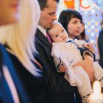 chrzest w kościele + mini sesja rodzinna