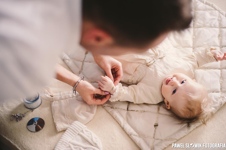 fotograf na chrzciny Laski Izabelin