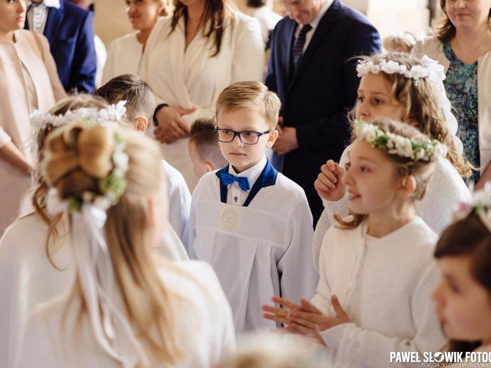 pierwsza komunia święta Łomianki