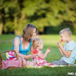 naturalna sesja rodzinna Pruszków