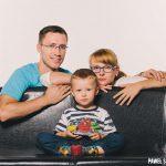 sesja rodzinna w studio Warszawa