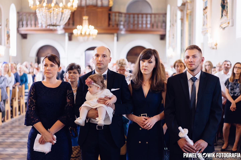 sesja ze chrztu Łomianki Dąbrowa