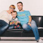 zdjęcia rodziny polskiej w studio
