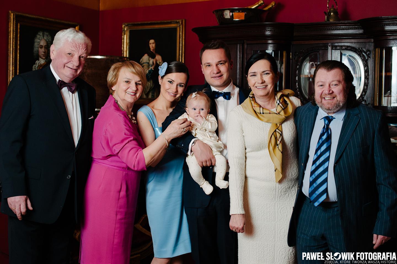 Zdjęcia rodzinne na chrzcie